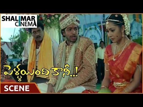 Pellaindi Kaani Movie || Allari Naresh With Kamalinee Mukerji Marriage Scene || Shalimarcinema