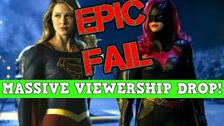 Batwoman Ratings TANK! Huge Drop Week 2! DC's Biggest FAIL