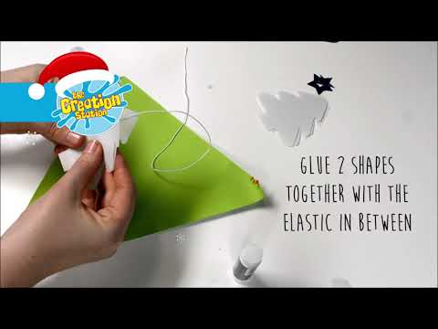 The Creation Station Christmas Creative Countdown - Day 24! Baby's First Christmas Mobile!