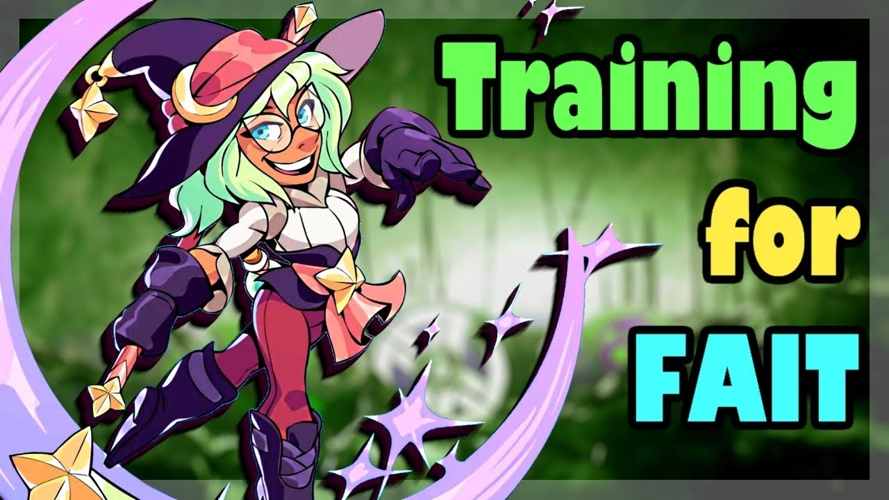 Training for Fait • Orb + Scythe Brawlhalla 1v1 Gameplay
