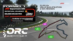 F1 2019 / F1 Esport / Belgien / Special Event / ORC vs TMOC