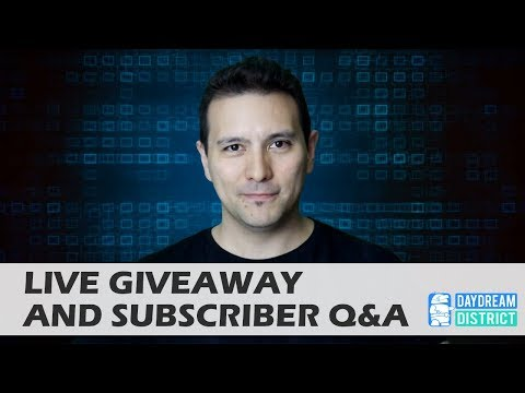 LIVE GIVEAWAY & SUBSCRIBER Q&A