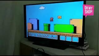 Mini Consola 300 Juegos Clásicos Retro Tipo Game Boy Color c/salida AV
