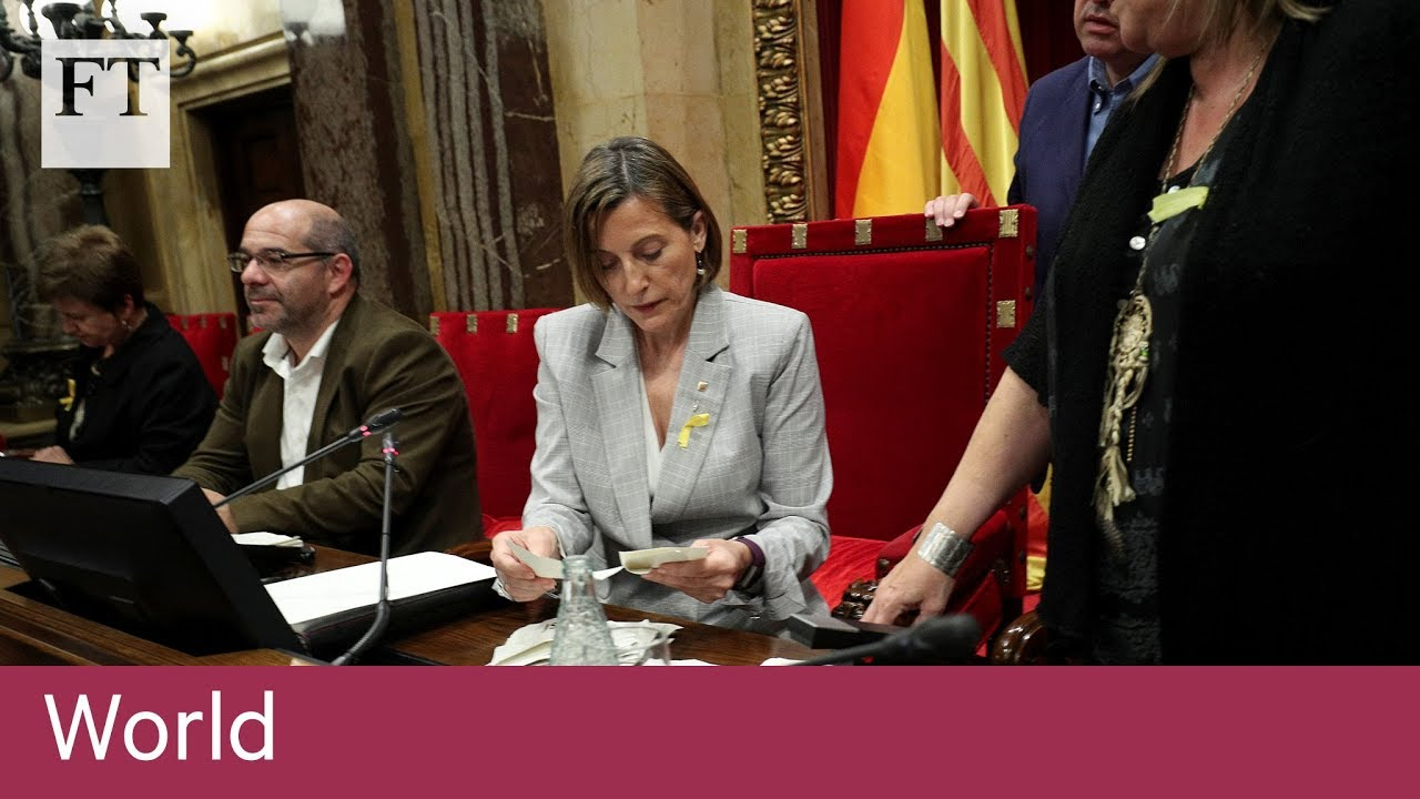 Catalans declare independence