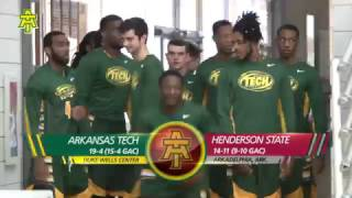 Tech Men's Basketball vs. Henderson State Highlights 2 18 17