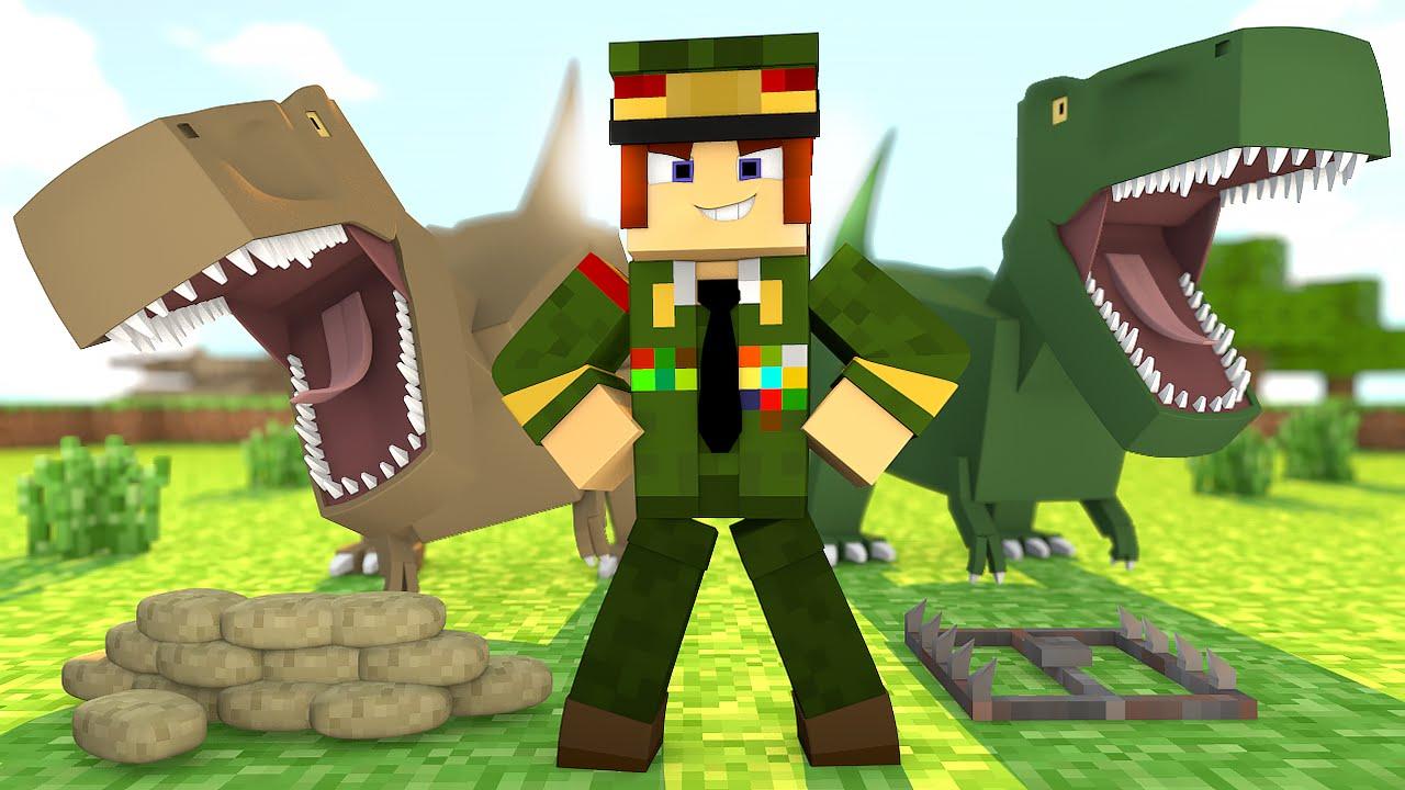 Minecraft ex rcito de dinossauros ark craft for The ark of craft