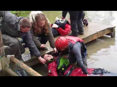 Outdoor First Aid Course - Water Scenario - Brokerswood