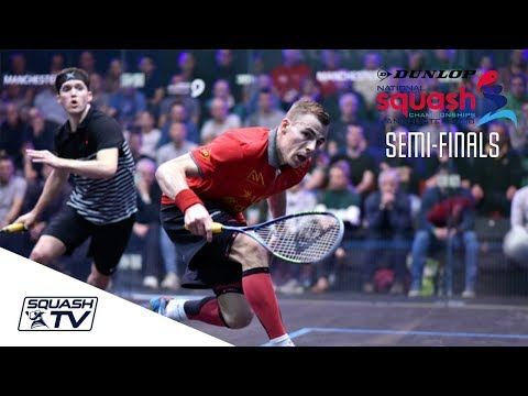 Squash: Dunlop British Nationals 2018 - Men's SF Roundup