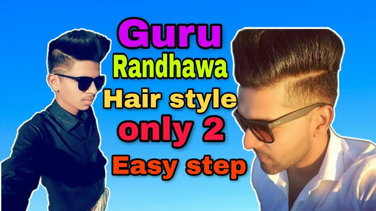 Guru randhawa hair style// guru randhawa hair cutting ...