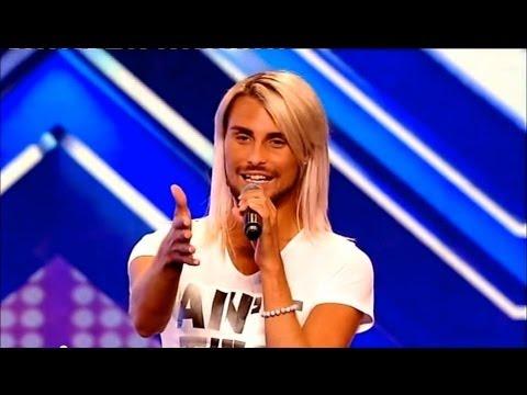 Rylan Clark  audition - The X Factor UK 2012