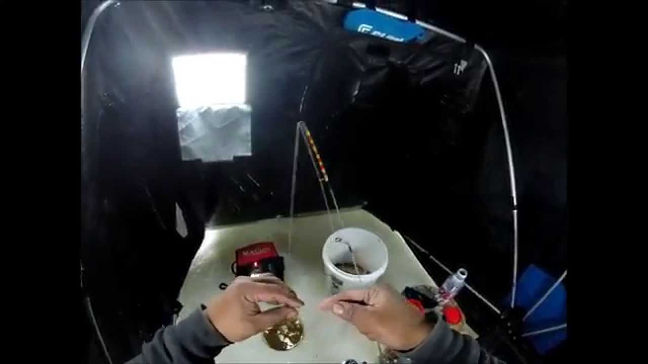 Ice fishing iowa 1 17 15 youtube for Iowa out of state fishing license