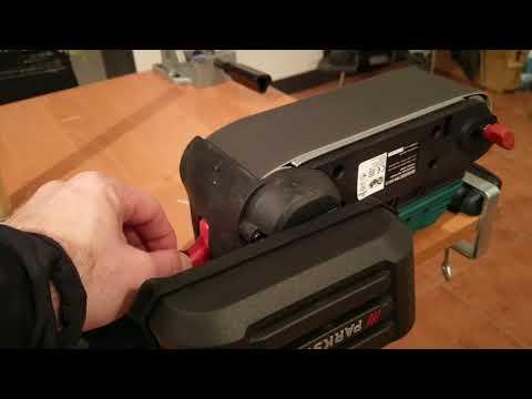 Parkside PBS 900 C3 belt sander test