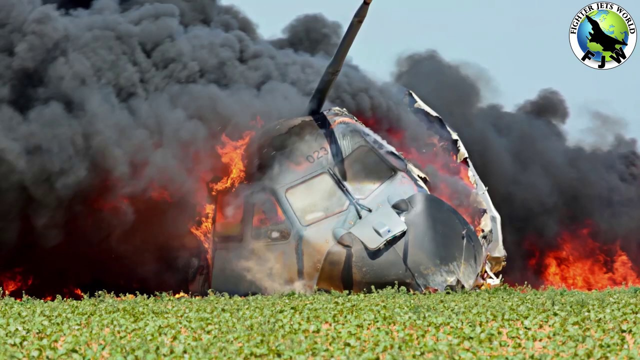 Video of Airbus A400M crash at Seville in 2015