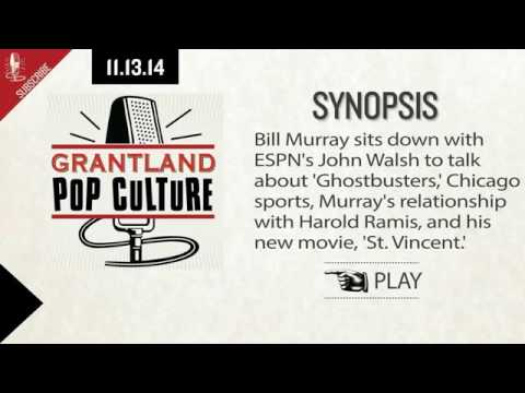 Bill Murray on Chicago Sports, Harold Ramis, and His New Movie, 'St  Vincent'   11 13 14