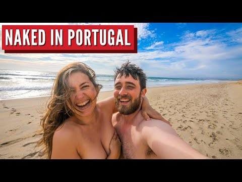 First Time Nudist Beach Adventure | Portugal Travel Series Part 2