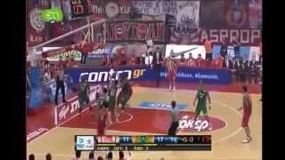 Green Highlights Olympiakos-Panathinaikos 51-64