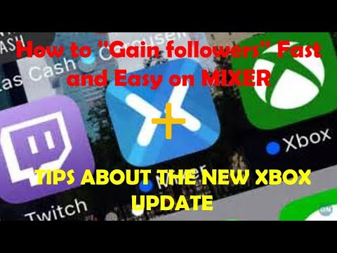How to ''Gain followers'' Fast and Easy on MIXER + TIPS