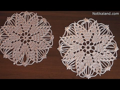 Crochet Doily Snowflake Tutorial Part 2 Rochet Hristmas Ornaments