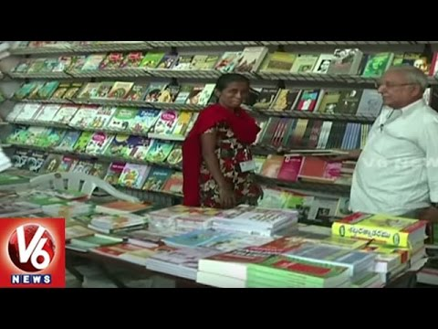 Hyderabad National Book Fair Attracts City People | Book Lovers | V6 News