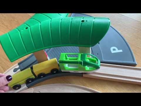 Brio Wooden Train I Brio Smart Tech  I Ikea Train Set I Vilcieniņi Bērniem I поезд для детей