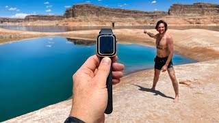 Found YouTubers Lost 24k Gold Apple Watch While Scuba Diving! (His Reaction, Priceless)