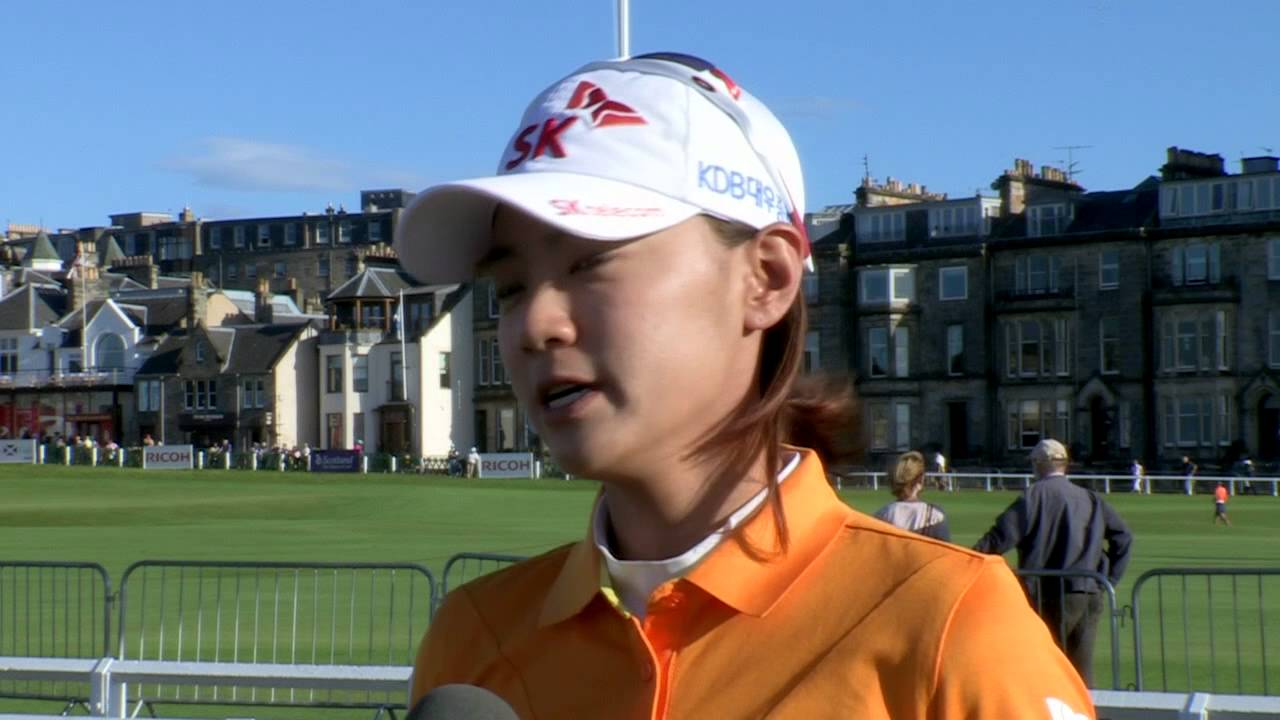 na yeon choi s second round interview at the ricoh women s british na yeon choi s second round interview at the ricoh women s british open