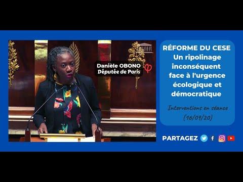 🏛RÉFORME DU CESE : UN RIPOLINAGE INCONSÉQUENT FACE À L'URGENCE ÉCOLOGIQUE & DÉMOCRATIQUE (16/09/20)