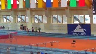 Чемпионат республики Беларусь. Могилев 20 февраля. Бег 3000 метров, мужчины