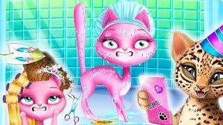 МИСС КОШЕЧКА КАТЯ Смешное видео для детей День рождения Веселые мультики про котят Игра для девочек