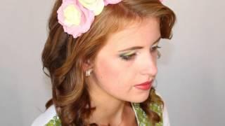 Красивые прически на свадьбу и выпускной