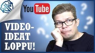 Miten löytää loputtomasti videon aiheita? Viisi vinkkiä!