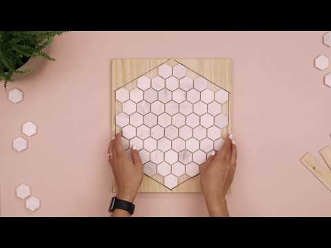 DIY Marble Tile Decor
