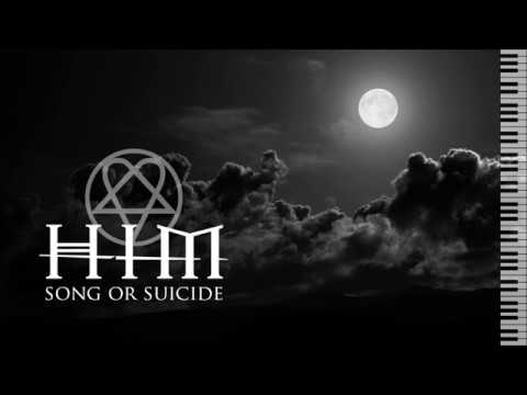 HIM - Song Or Suicide - Piano Instrumental (With Lyrics)