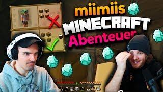 miimiis Minecraft Abenteuer #1 - DIAMANTEN! | ungeklickt