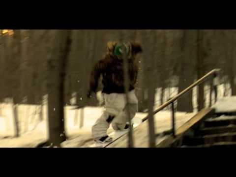 SNOWBOARD VIDEO - AGATE ROAD_section1 (intro)