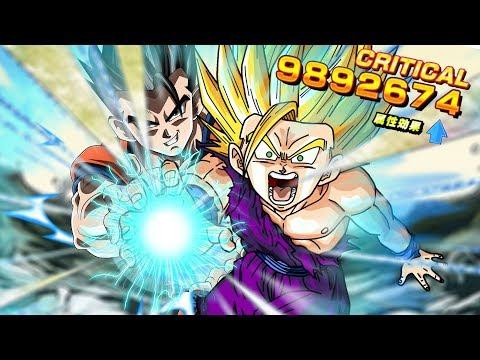 10 MILLION DAMAGE!? ULTRA OVERPOWERED Half Saiyan LR Team!! | Dragon Ball Z Dokkan Battle