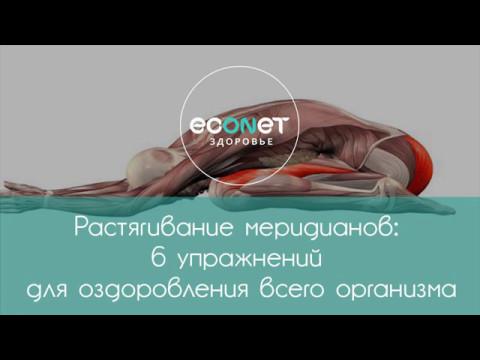 Растягивание меридианов: 6 упражнений для оздоровления организма  | Econet.ru