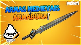FORTNITE medieval weapons and armor! News Patch 7.10 Fortnite Save the World