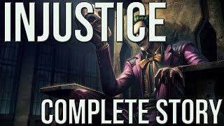 Injustice the Game - Complete Story