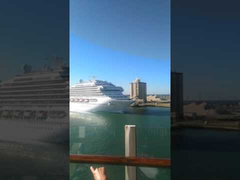 Say hello to Carnival cruise line from Royal Caribbean!