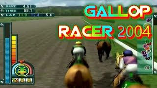 Gallop Racer 2004 Playstation 2 Gameplay Walkthrough Horse Racing Games For PS2 Commentary Day 52