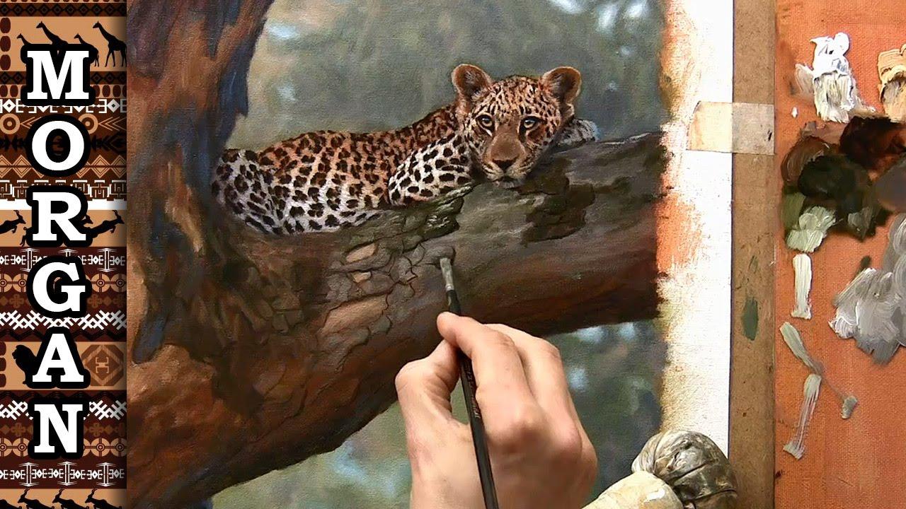 How to paint big cats leopard wildlife art jason morgan youtube how to paint big cats leopard wildlife art jason morgan fandeluxe Ebook collections