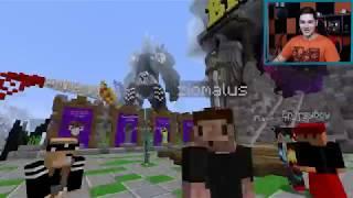 """Minecraft Party #60 - Zio i LJay oglądali """"Rock obraża Youtuberów"""" ?!"""