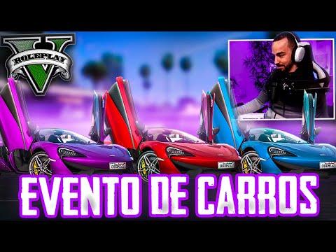 EVENTO DE CARROS   GTA V RP
