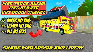 REVIEW AND SHARE MOD TRUCK OLENG UPDATE LIVERY BUSSID V2 9 2