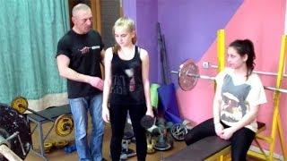 Как тренироваться девушкам в тренажерном зале(http://atletizm.com.ua/ - сайт об атлетизме, единоборствах и здоровом образе жизни. В этом видео мы покажем простую..., 2014-04-28T13:13:03.000Z)
