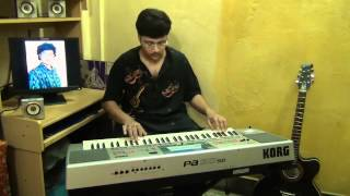 Surer Ei Jhar Jhar Jharna instrumental by Pramit Das.avi