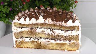 ТОРТ ТИРАМИСУ Cake Tiramisu Очень простой рецепт