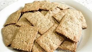 КРЕКЕР/Cracker. Постная выпечка.