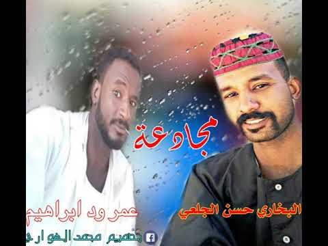 مجادعه البخاري حسن الجعلي/عمر ود ابراهيم